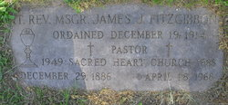 Rev Fr James J Fitzgibbon