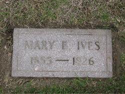 Mary Elizabeth <I>Swift</I> Ives