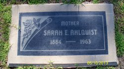 Sarah E Ahlquist