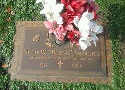 "Ulah W ""Winnie"" Sherritt"