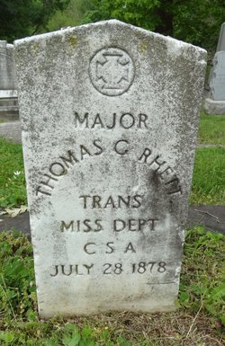 Thomas Grimke Rhett (1821-1878) - Find A Grave Memorial