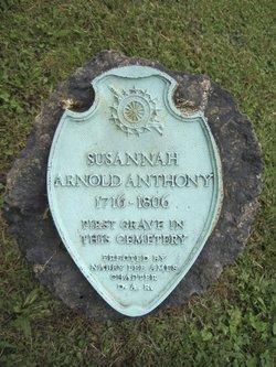 Susannah <I>Arnold</I> Anthony