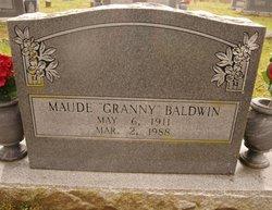 "Maude ""Granny"" <I>Bentley</I> Baldwin"