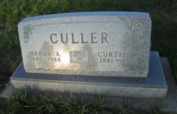 """Curtis Wesley """"Curt"""" Culler"""