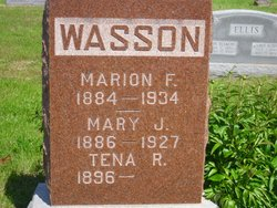 Marion F Wasson