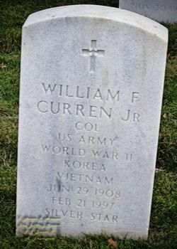 William F Curren, Jr