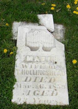 Mary Elizabeth <I>Glenn</I> Hollingshead