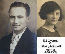 """Edward Ames """"Eddie"""" Owens"""