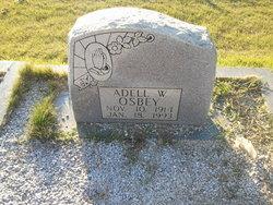 Adell W Osbey