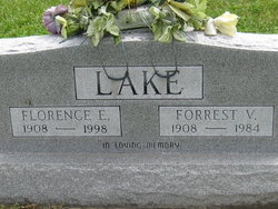 "Florence Evelyn ""Flossie"" <I>Philebaum</I> Lake"