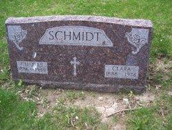 Clara Katherine <I>Krier</I> Schmidt