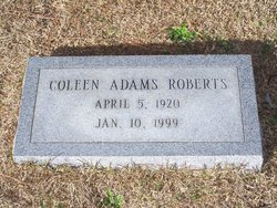 Margaret Coleen <I>Adams</I> Roberts