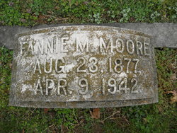 Fannie Kate <I>McAffry</I> Moore