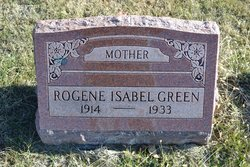 Rogene Isabelle <I>Johnston</I> Green