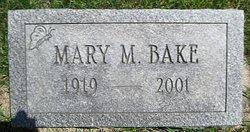 Mary M. <I>Beckett</I> Bake