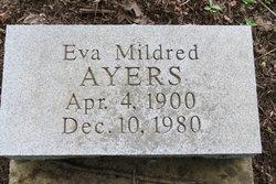 Eva Mildred <I>Mount</I> Ayers
