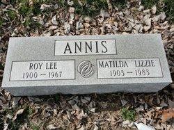 """Matilda """"Lizzie"""" Annis"""