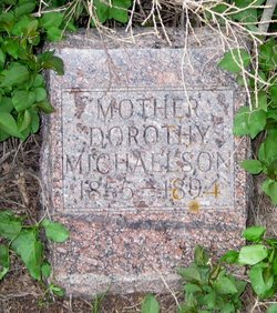 "Dorothy ""Dorothea  Dora"" <I>Erickson</I> Michaelson"