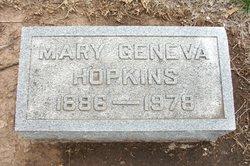 Mary Geneva <I>Smith</I> Hopkins