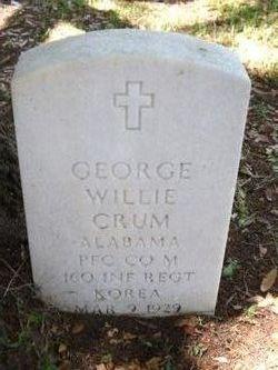 George Willie Crum