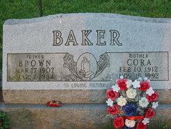 "Thomas Buster ""Brown"" Baker"