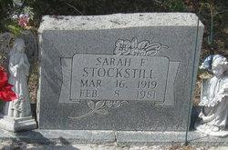 Sarah Adeline <I>Frierson</I> Stockstill