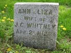 Ann Eliza <I>Woodruff</I> Whitney