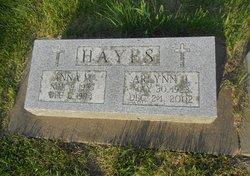 Anna Mae <I>Dean</I> Hayes