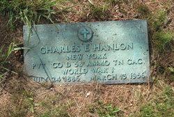 Pvt Charles Edward Hanlon