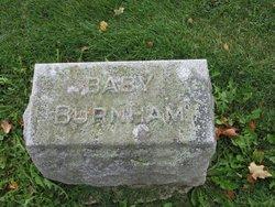 Infant Son Burnham
