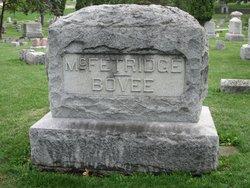 Mary E. <I>McFetridge</I> Bovee