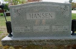 Anna Marie <I>Vieth</I> Hansen