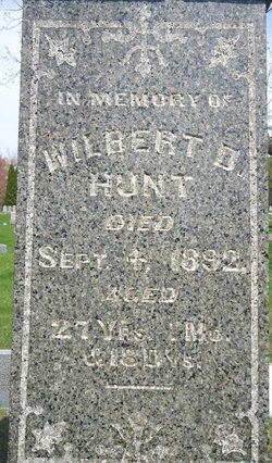 Wilbert D Hunt