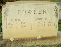 Addie Louella <I>White</I> Fowler