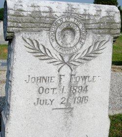 "John F ""Johnie"" Fowler"