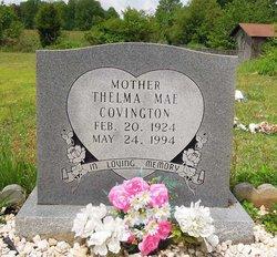 Thelma Mae <I>Crutchfield</I> Covington