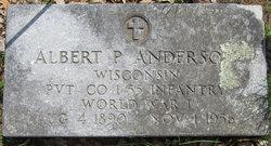 Albert Peter Anderson