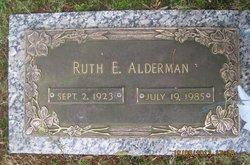 Ruth <I>Edwards</I> Alderman
