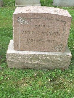 Annie M Johnston