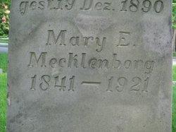 Mary E. <I>Luecking</I> Mecklenborg