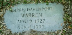 Harry Davenport Warren