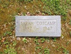 Sarah S. <I>Staggs</I> Cotcamp