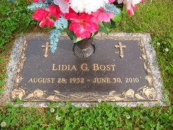 Lidia Gina <I>Bonolini</I> Bost