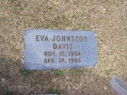 Eva <I>Johnston</I> Davis