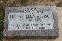 Lillian Ella Allison