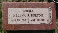 Helena R <I>Wickman</I> Burton