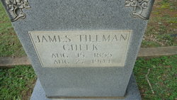 James Tillman Cheek