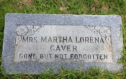 Martha Lorena <I>Murph</I> Caver