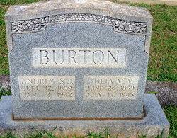 Julia Margaret Virginia <I>Dixon</I> Burton