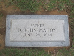 Dr D. John Mahon